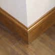 Detail of baseboard millwork for hotel's 'Market Bistro' Starbuck's Coffee Shop and commissary.